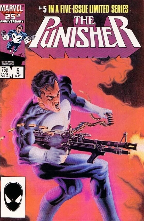 The Punisher Vol 1 #5