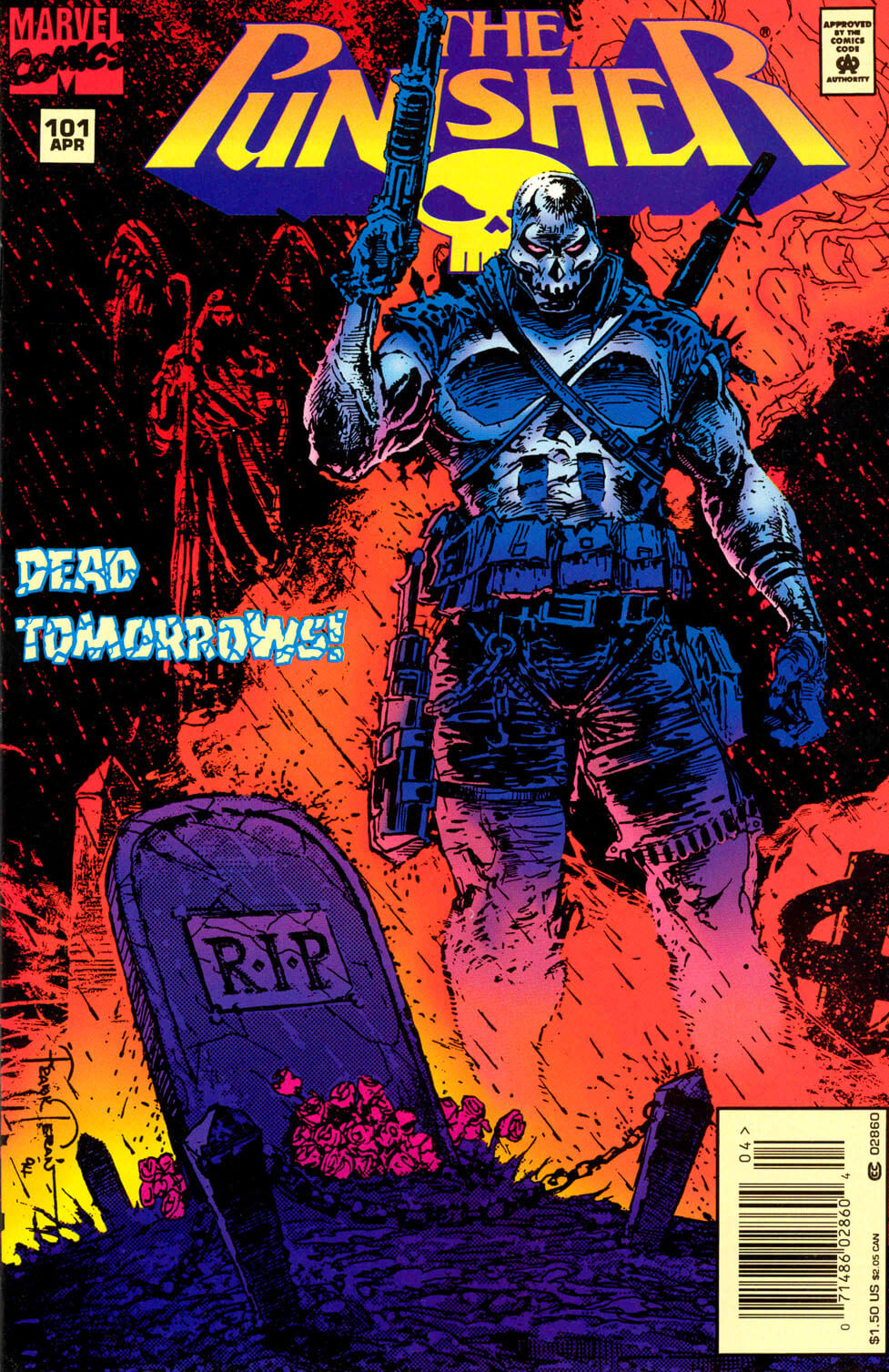The Punisher v2 101 - Dead Tomorrows