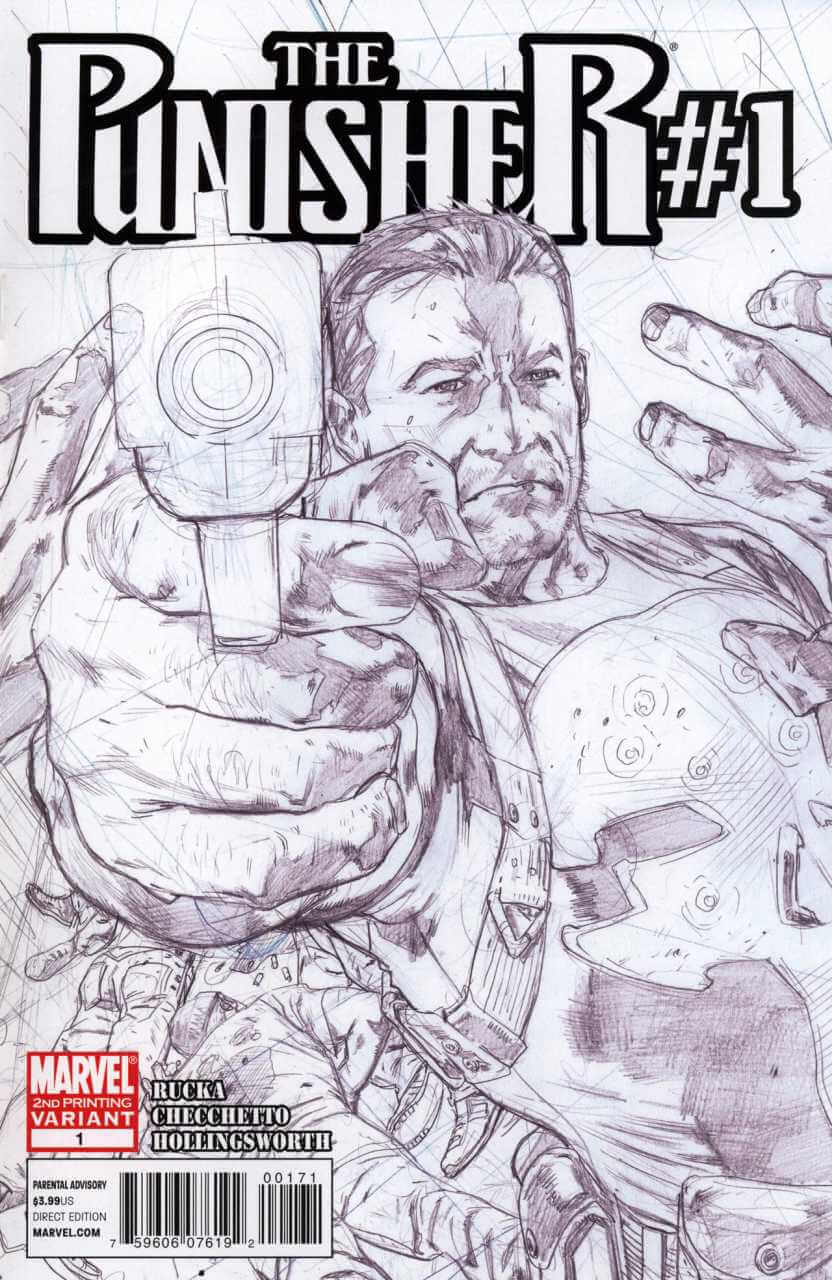 The Punisher Vol 8 #1 e
