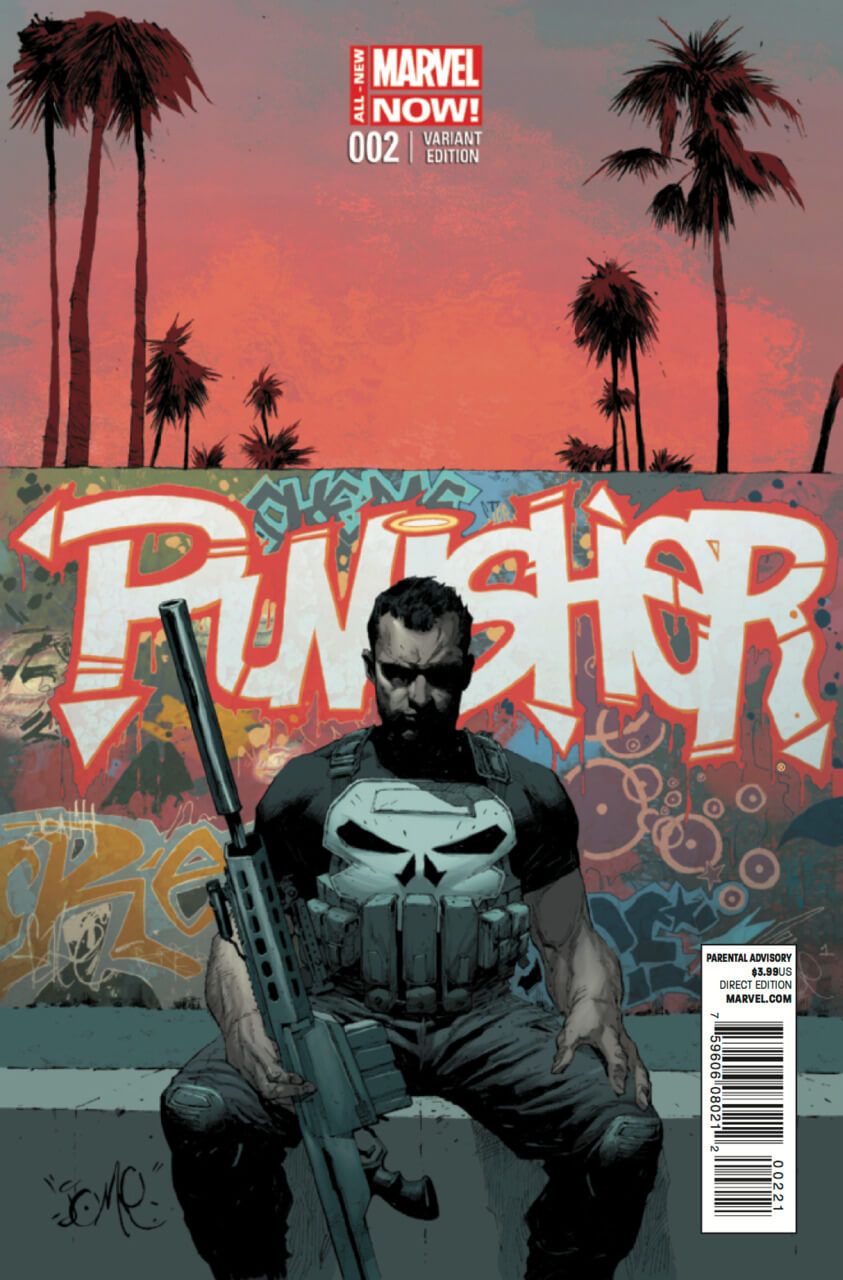 The Punisher Vol 9 #2 b