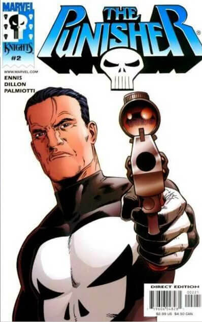 The Punisher Vol 4 #2 b