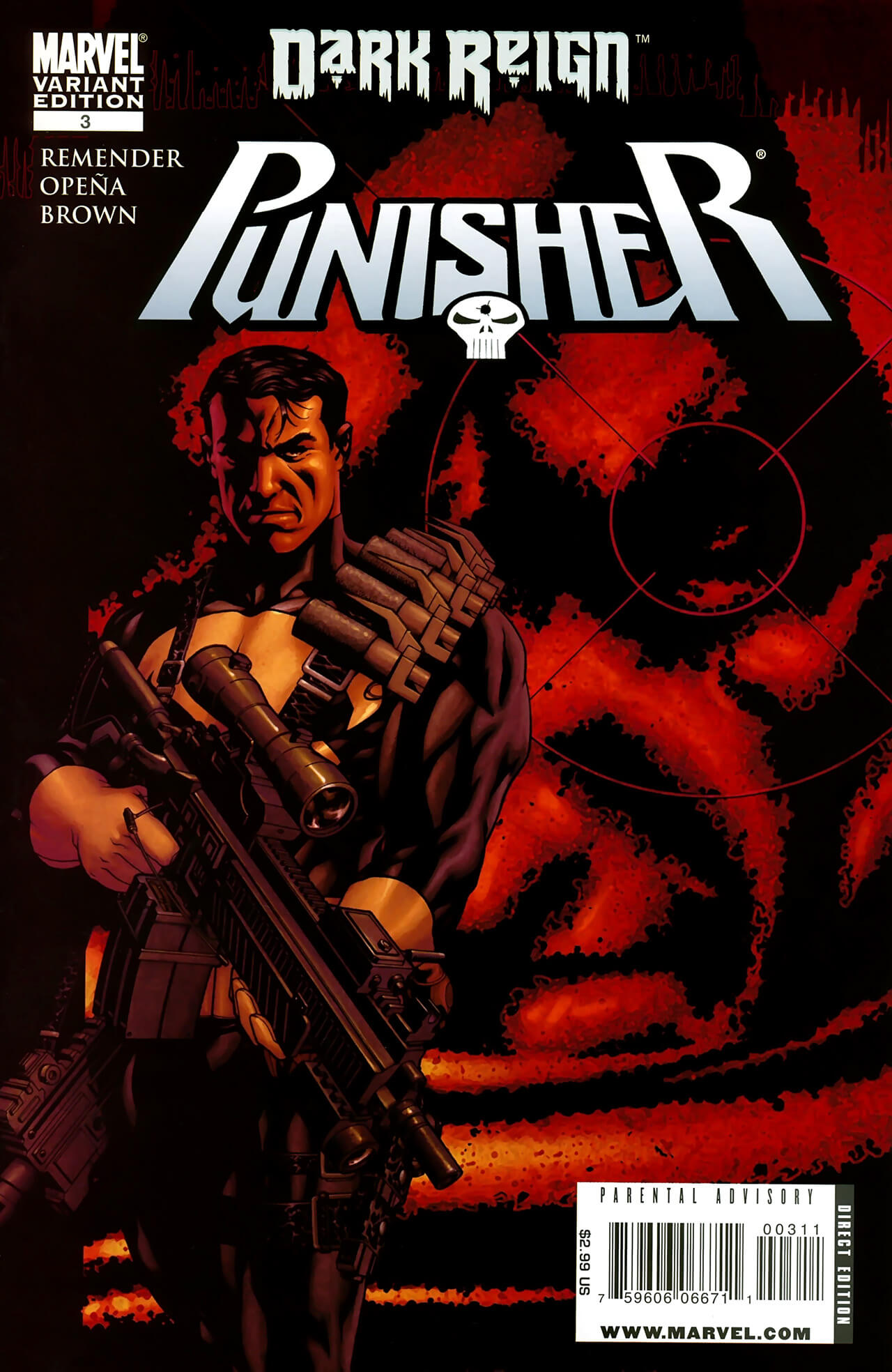 The Punisher Vol 7 #3 b