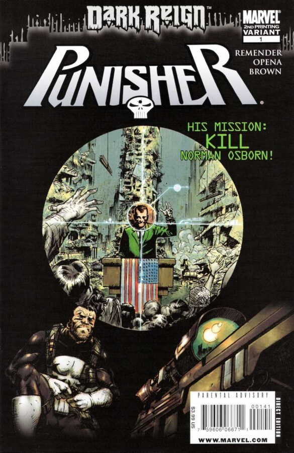 The Punisher Vol 7 #1 2nd Print