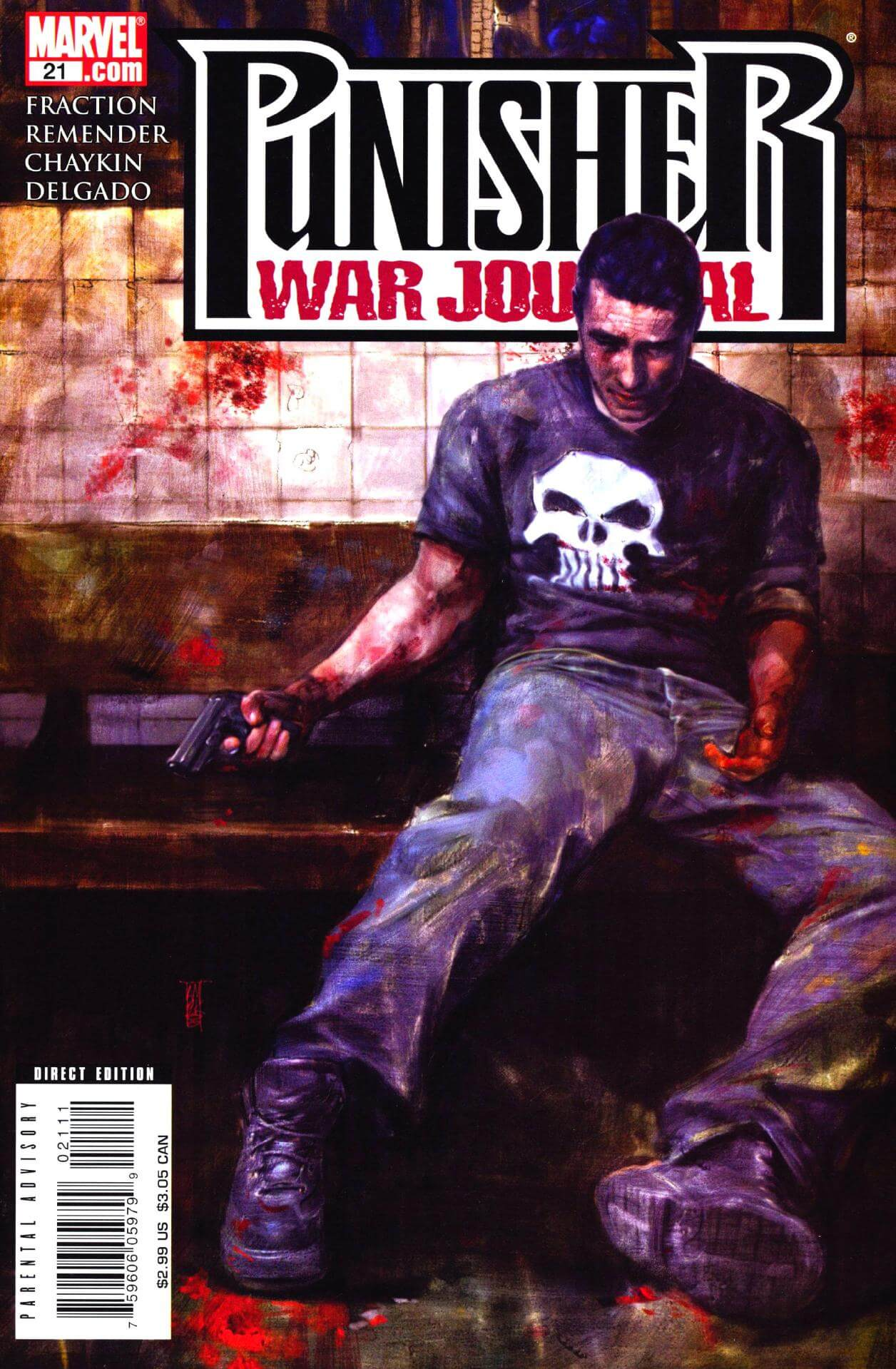 Punisher War Journal Vol 2 #21