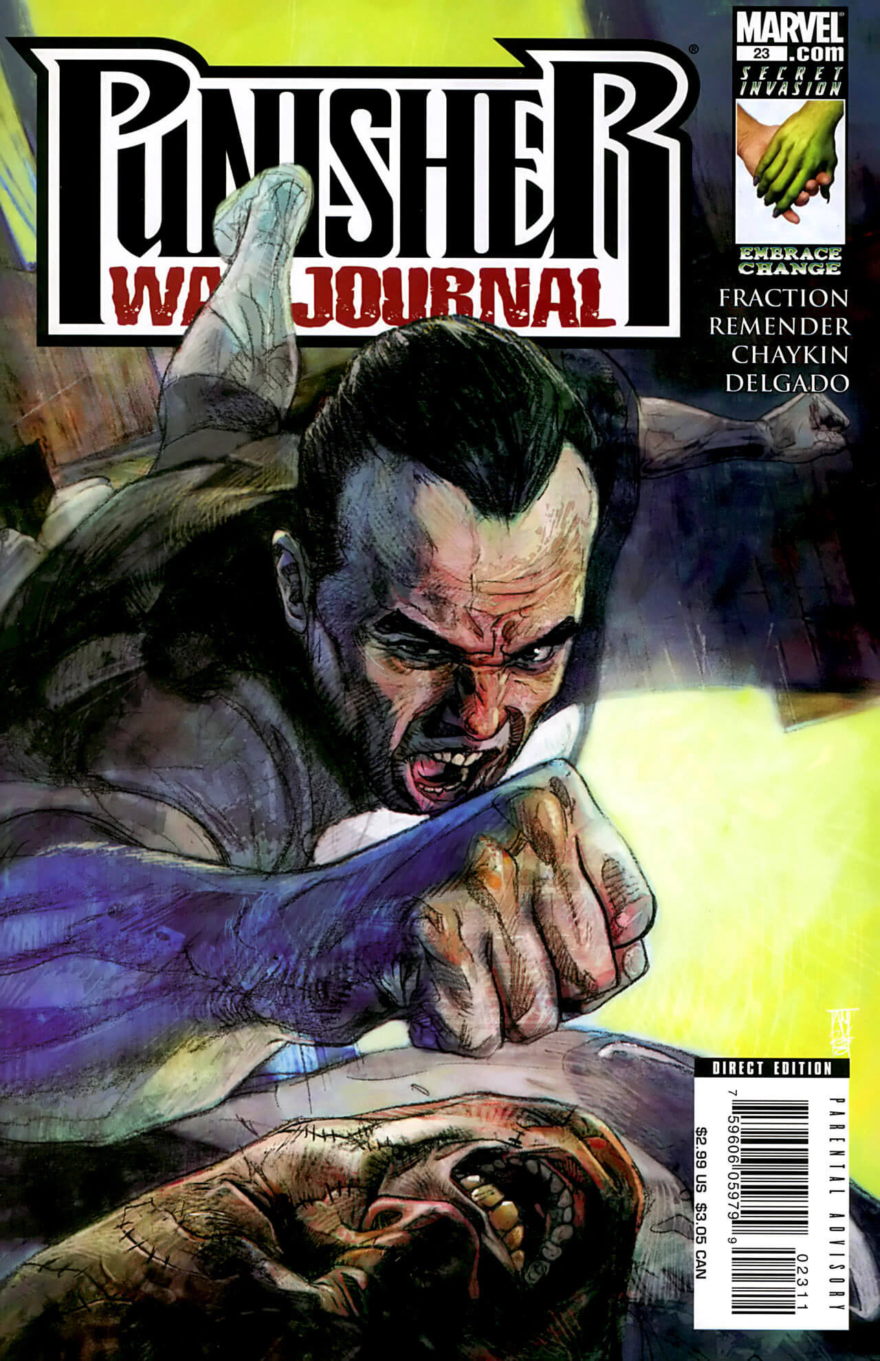 Punisher War Journal Vol 2 #23 a