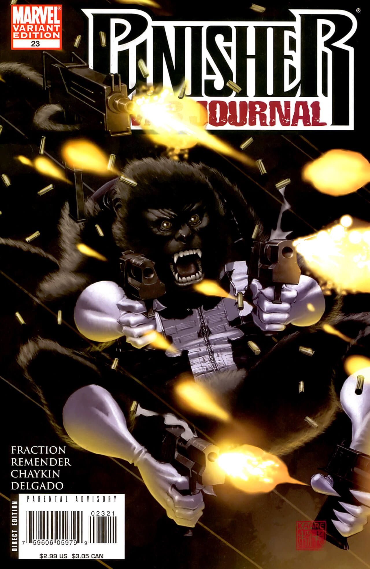 Punisher War Journal Vol 2 #23 b