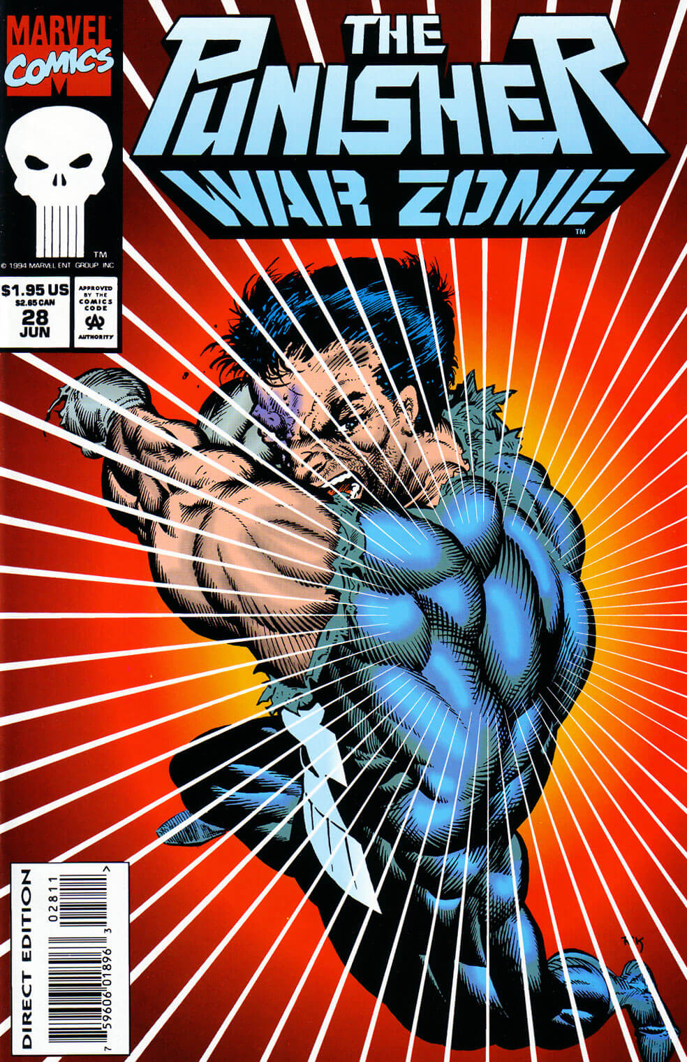 Punisher War Zone #28