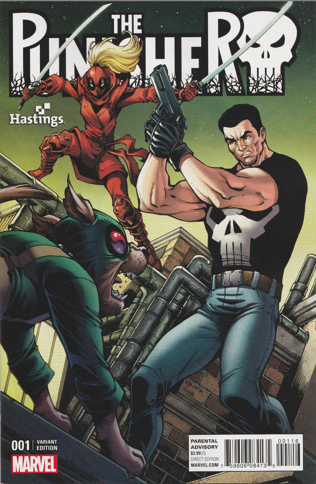 The Punisher Vol 10 #1 g