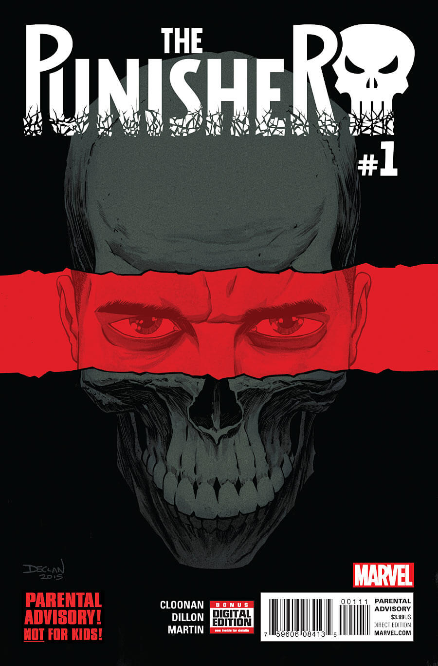 The Punisher Vol 10 #1 a