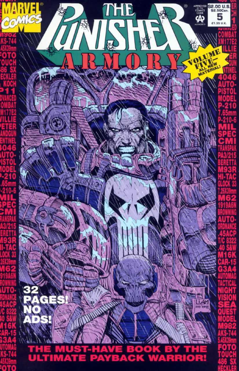 The Punisher Armory #5