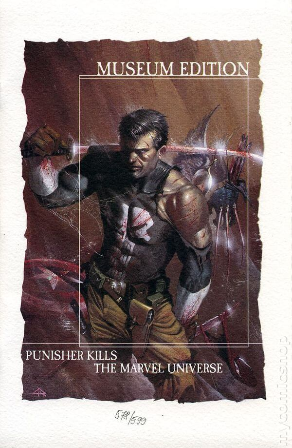 Punisher Kills the Marvel Universe