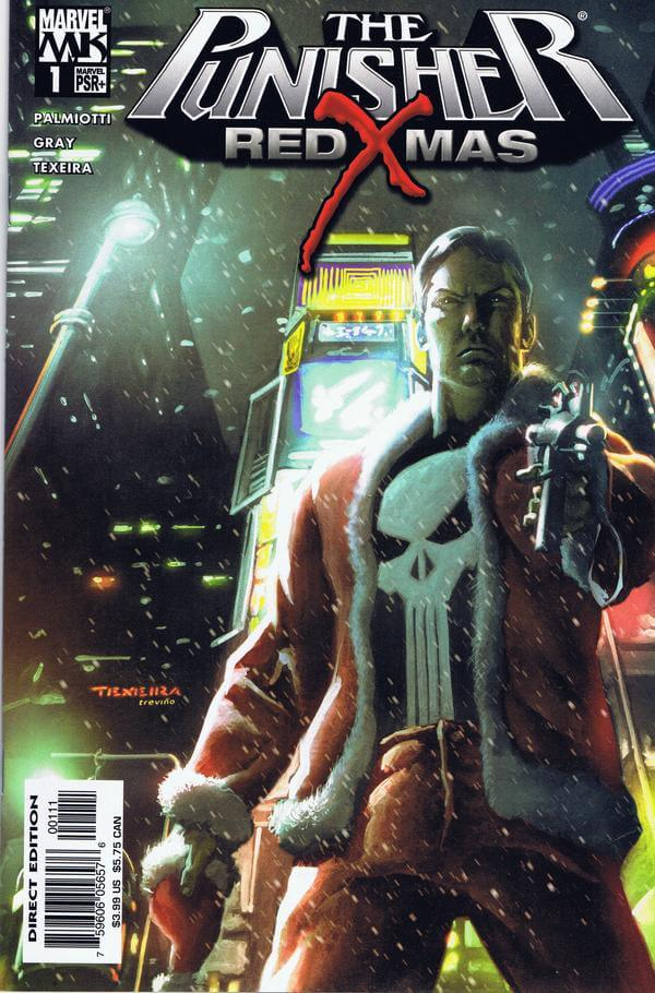 Punisher Red X-Mas