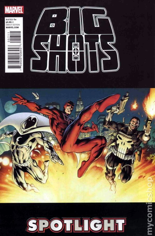 The Punisher, Moon Knight, & Daredevil: The Big Shots