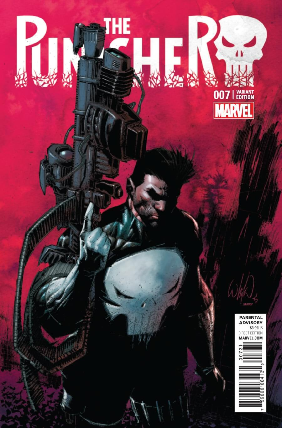 Punisher Vol 10 #7 Portacio Variant
