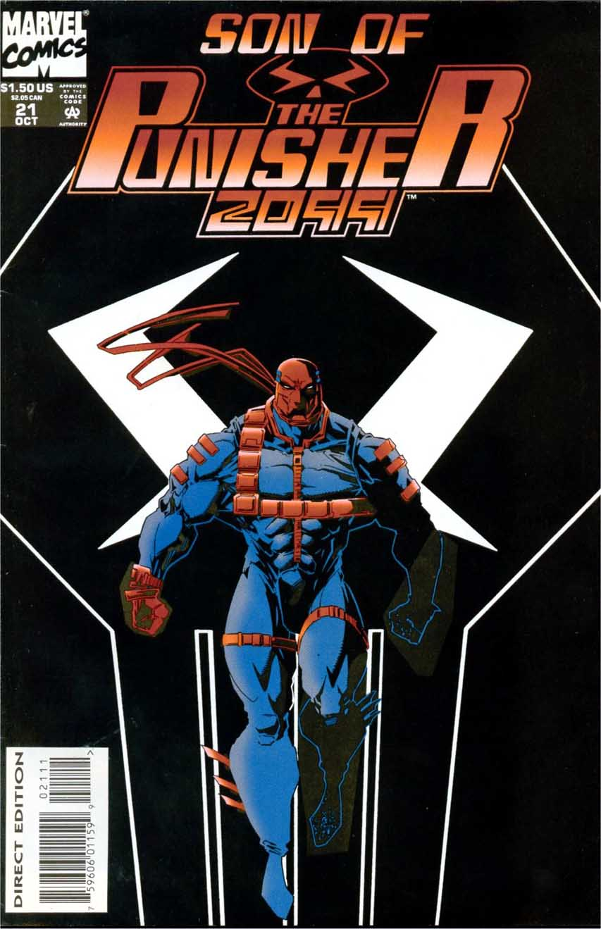 The Punisher 2099 #21