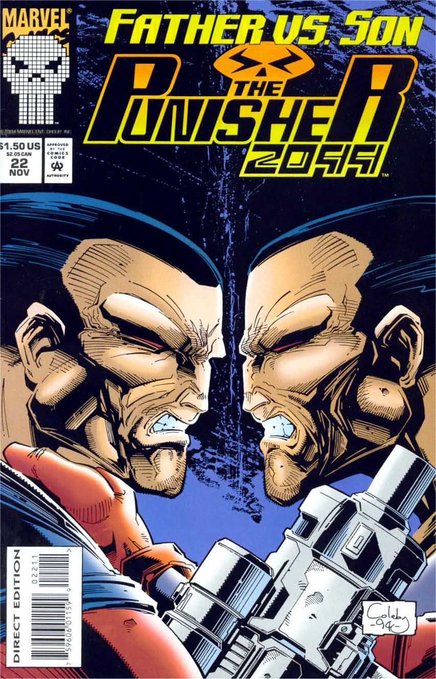 The Punisher 2099 #22