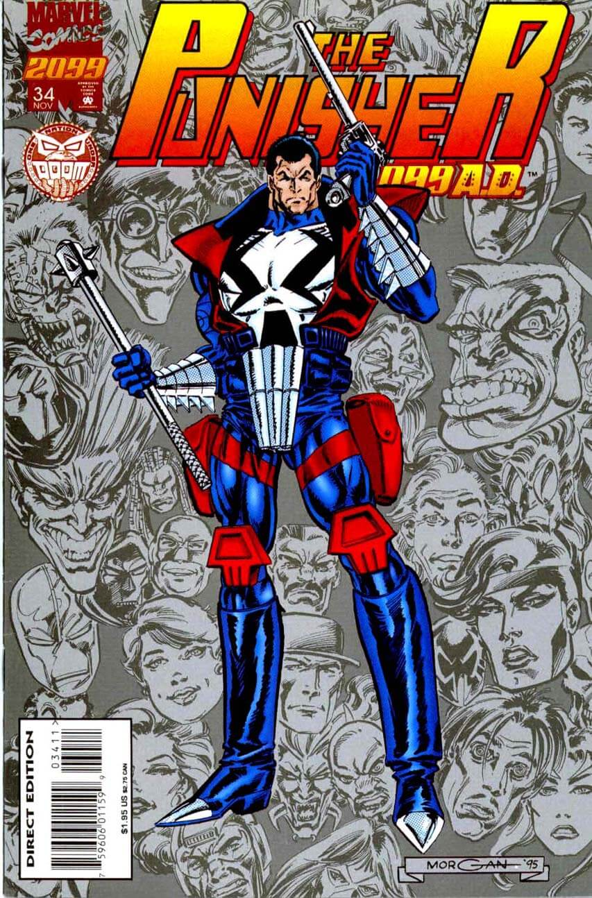 The Punisher 2099 #34