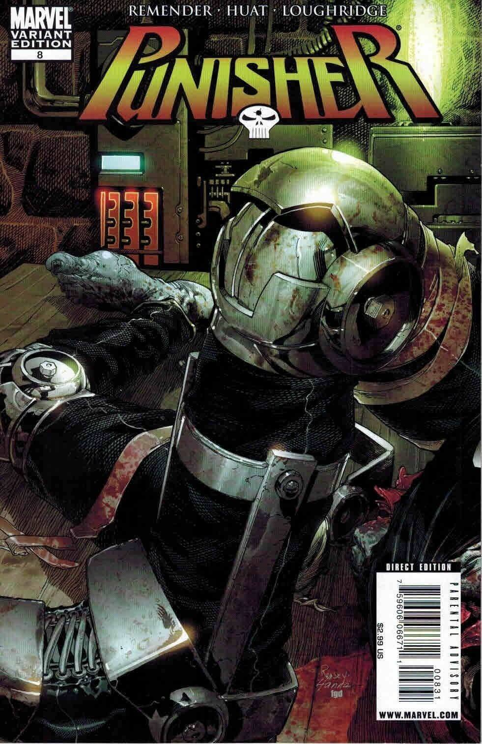 Punisher Vol 7 #8c Rest in Pieces Variant