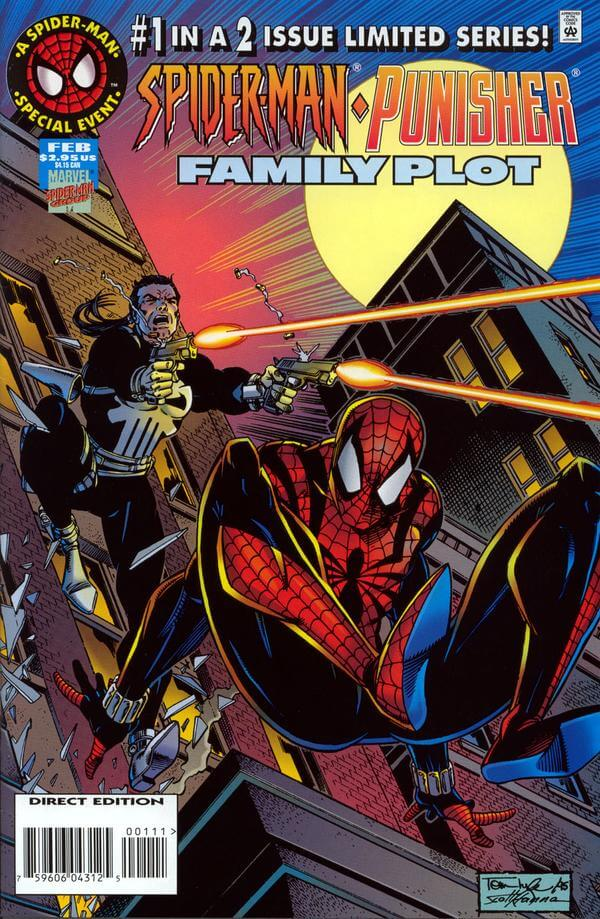 Spider-Man Punisher Family Plot #1