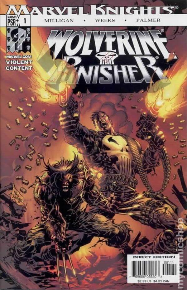 Wolverine Punisher #1