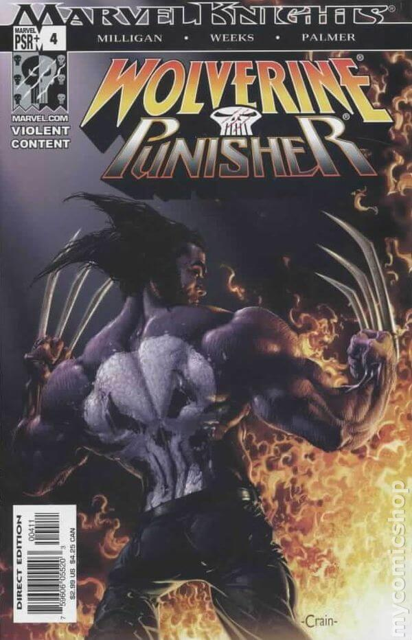 Wolverine Punisher #4
