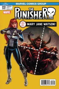Punisher Vol 10 #13 Mary Jane Variant