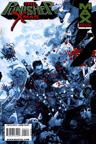 Punisher MAX X-Mas Special B