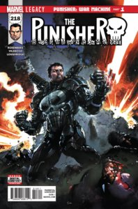 Punisher Vol 1 #218