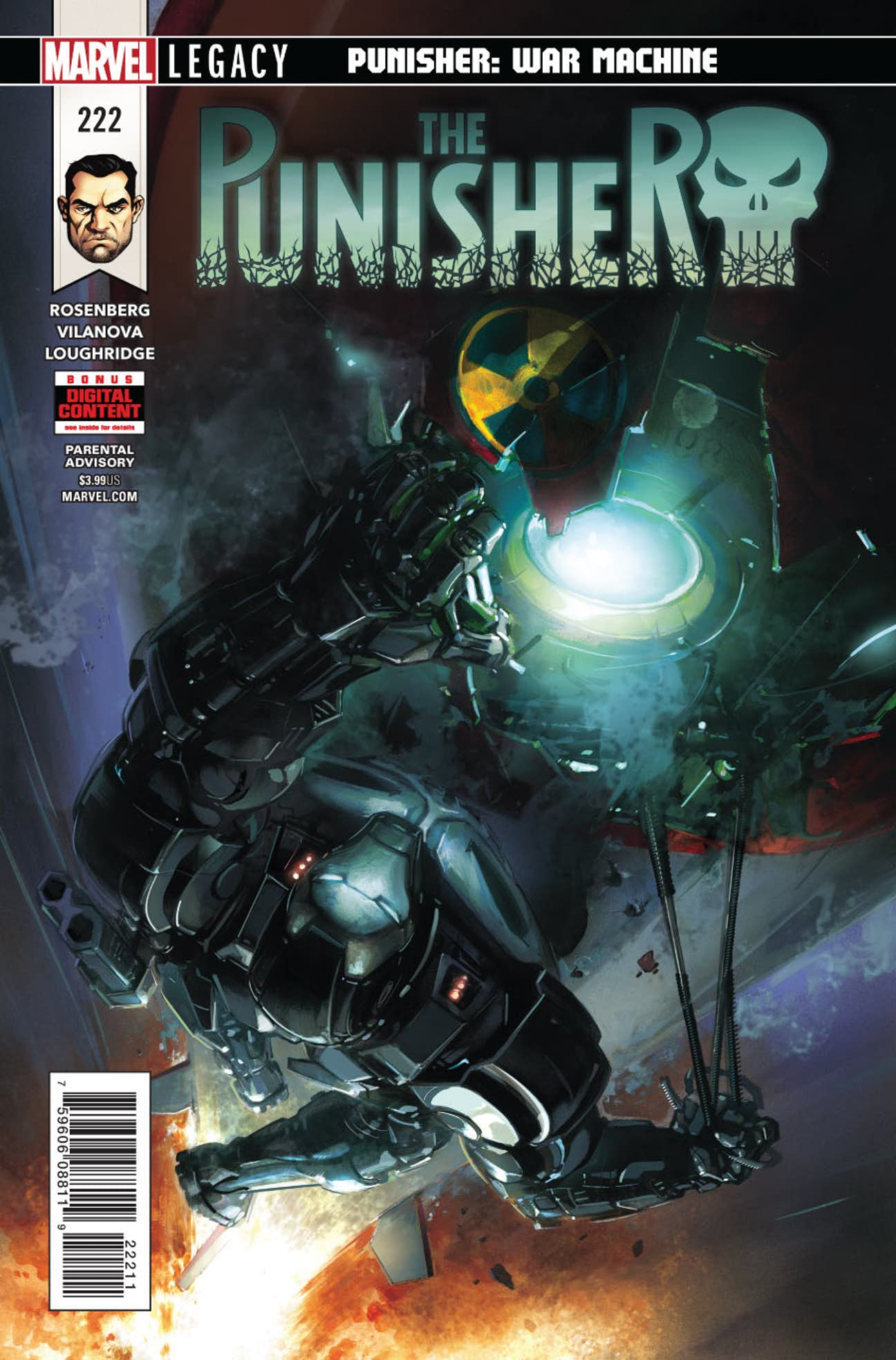 The Punisher Vol 1 #222