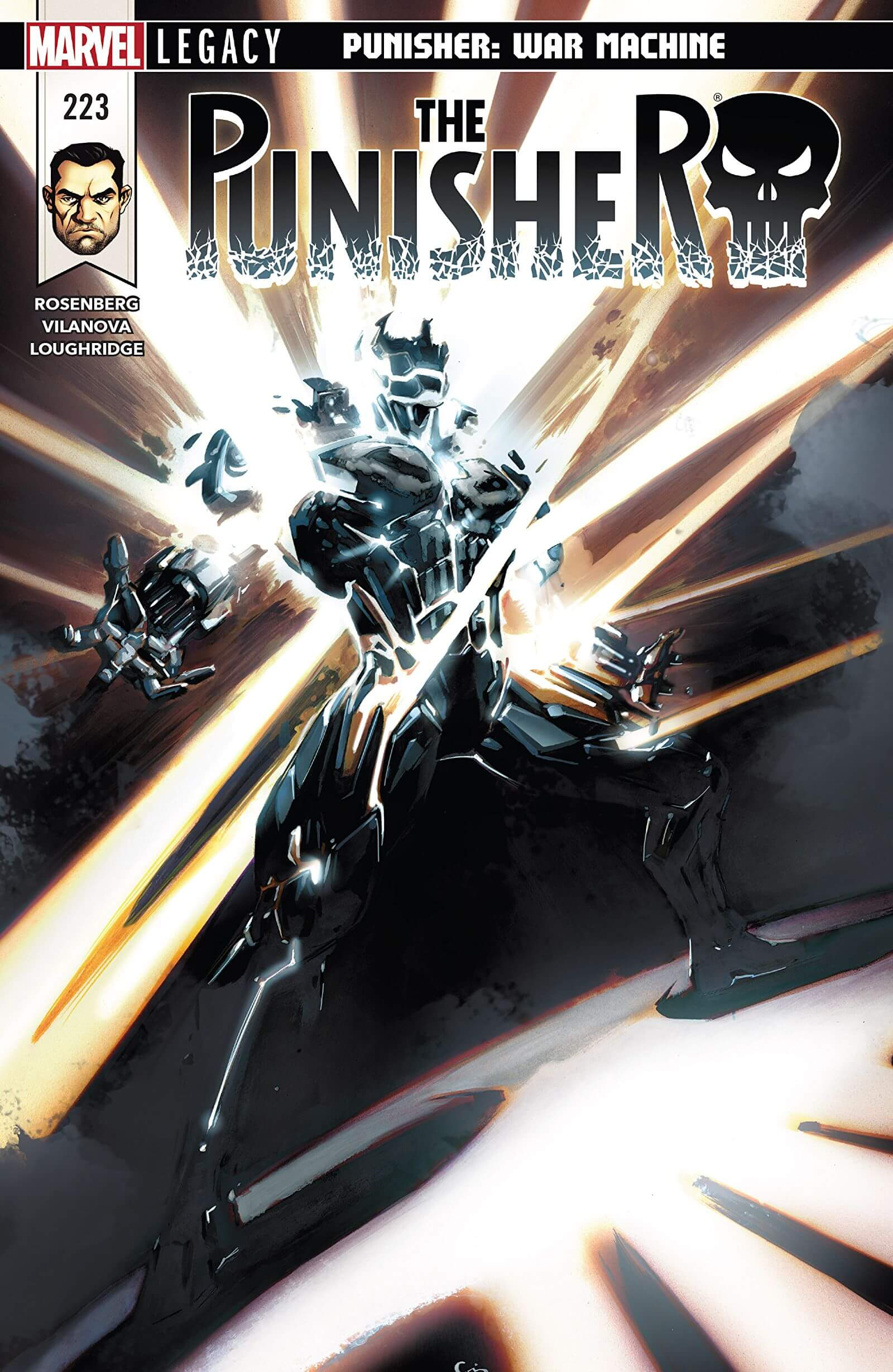 The Punisher Vol 1 #223