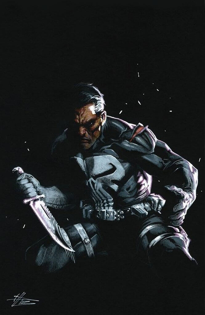 Punisher Vol 12 #2 Dell'Otto Virgin
