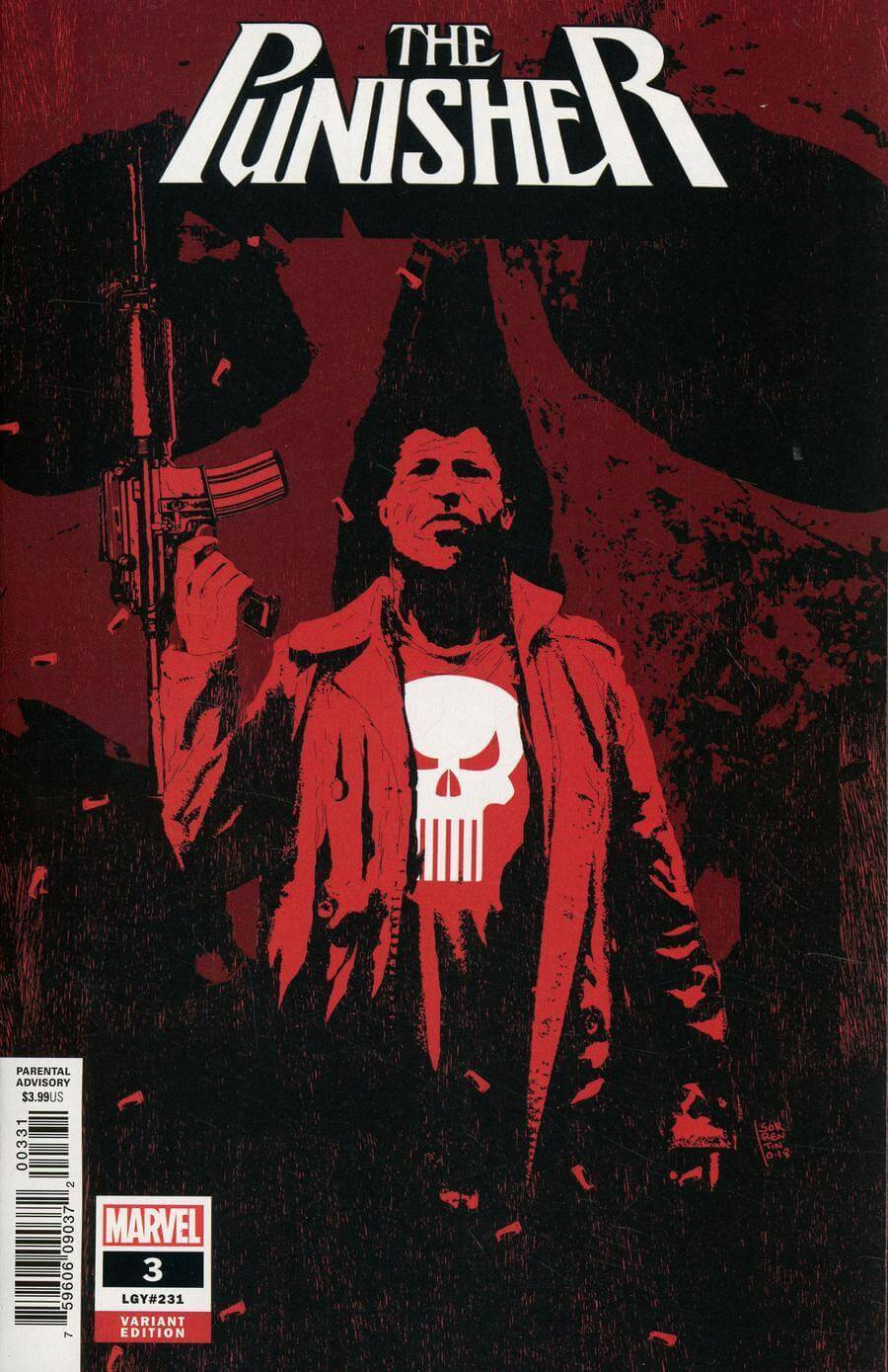 Punisher Vol 12 #3 Andrea Sorrentino Variant