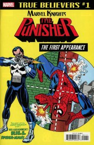 True Believers the Punisher First Appearance