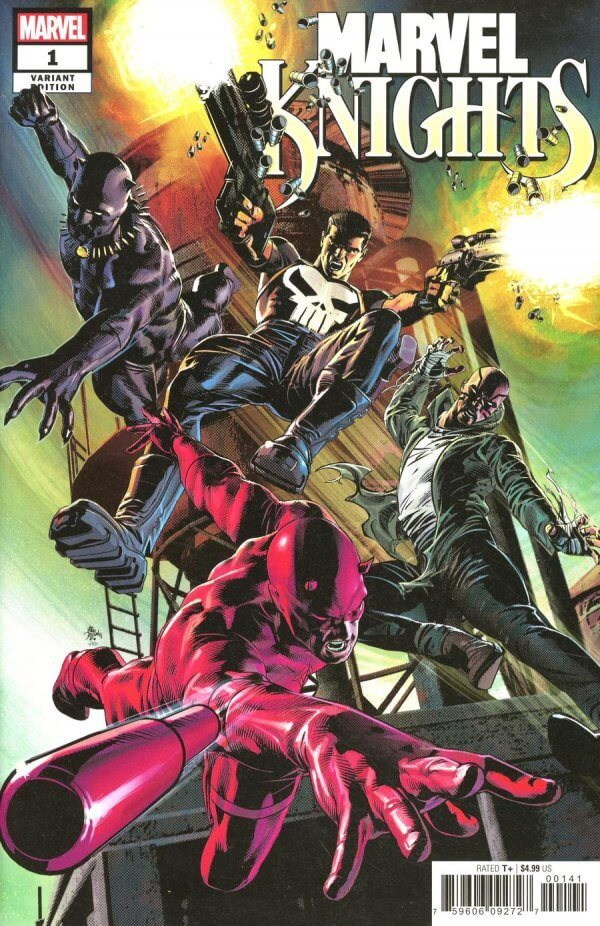 Marvel Knights 20th #1 b Mike Deodato