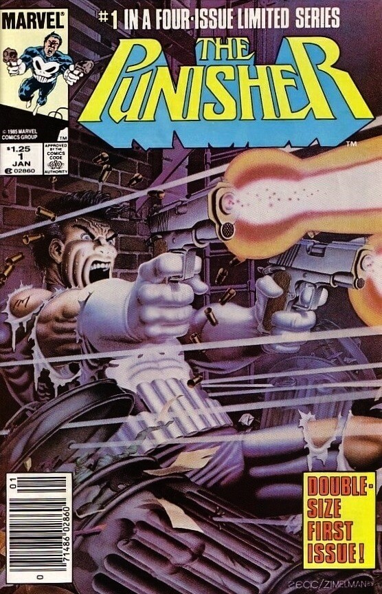 The Punisher Vol 1 #1
