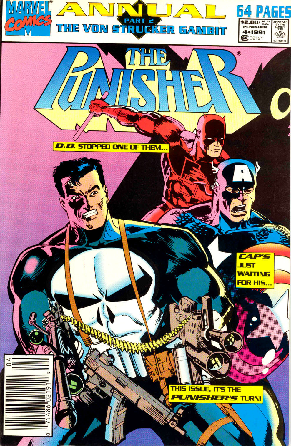 The Punisher v2 Annual #4
