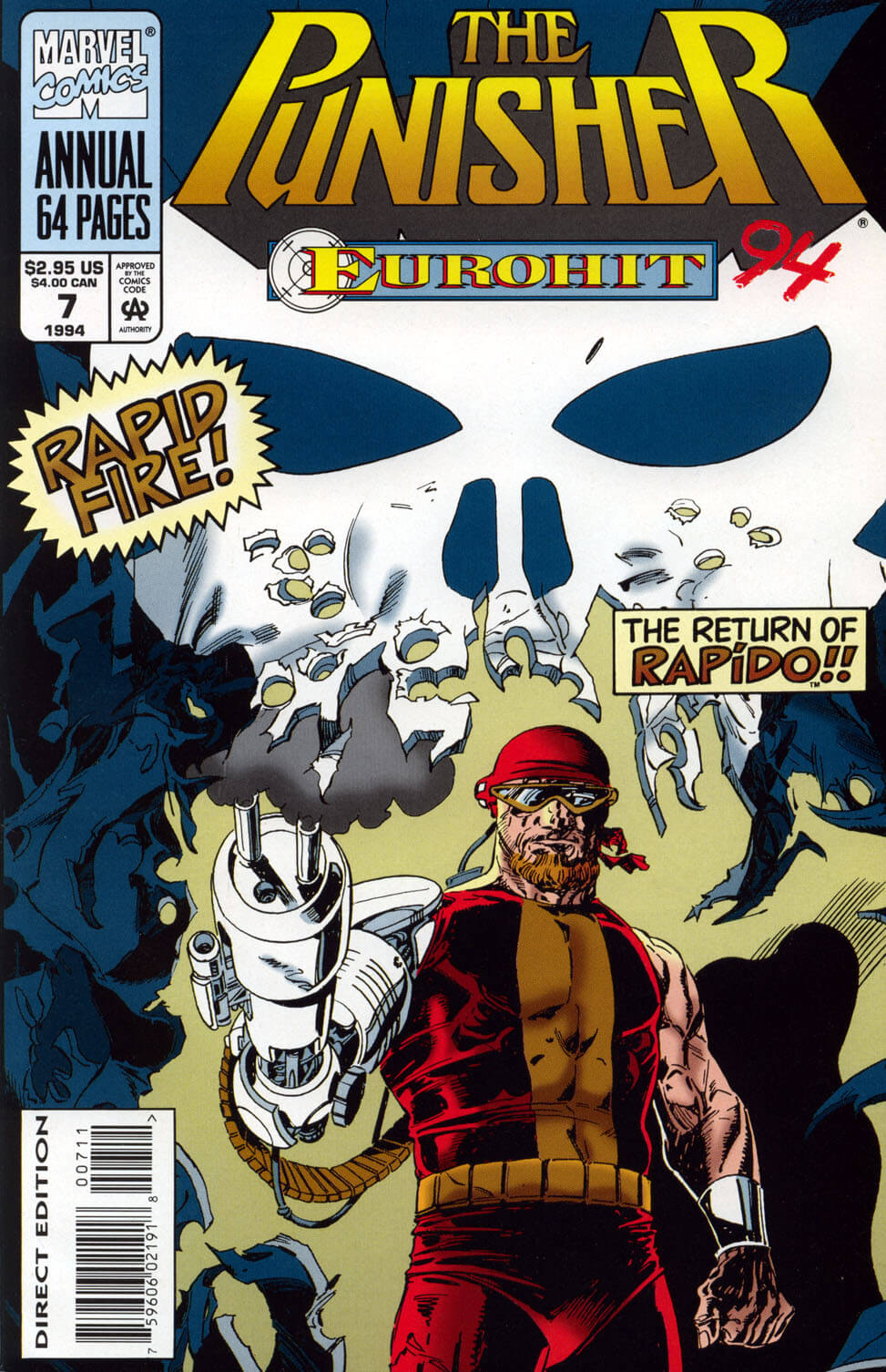 The Punisher v2 Annual #7