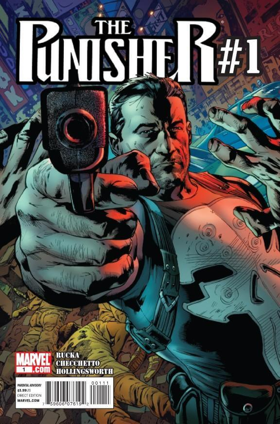 The Punisher Vol 8 #1 a