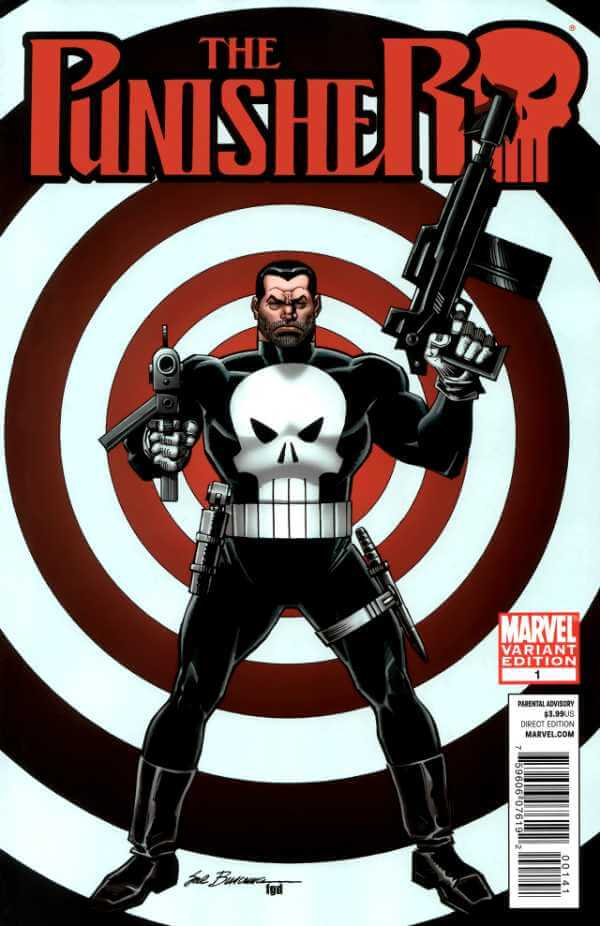The Punisher Vol 8 #1 c