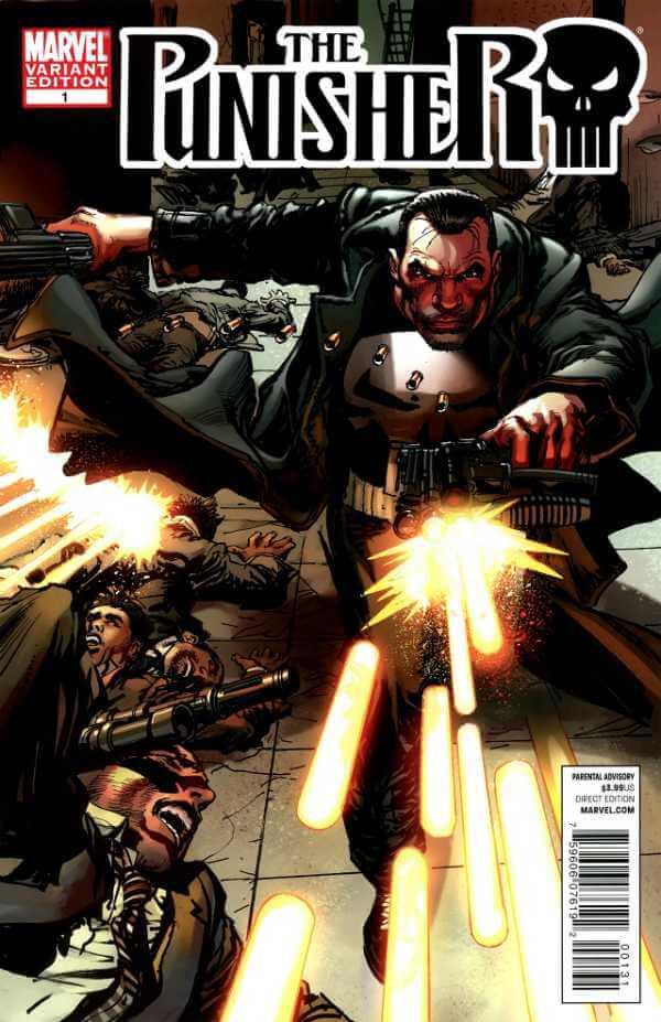 The Punisher Vol 8 #1 b