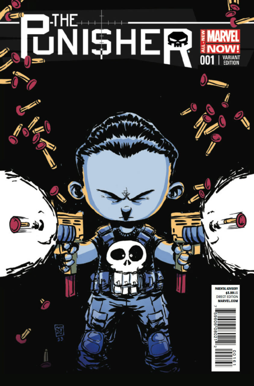 The Punisher Vol 9 #1 d