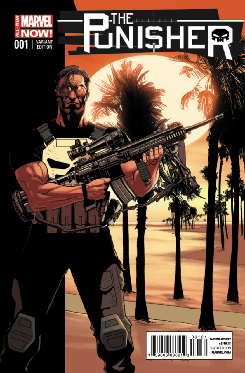 The Punisher Vol 9 #1 b