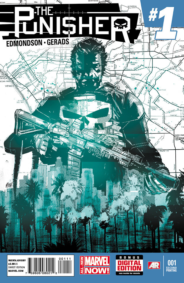 The Punisher Vol 9 #1 f