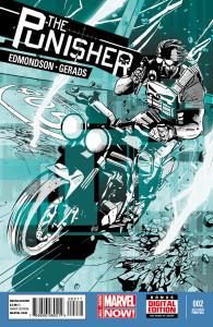 The Punisher Vol 9 #2 c