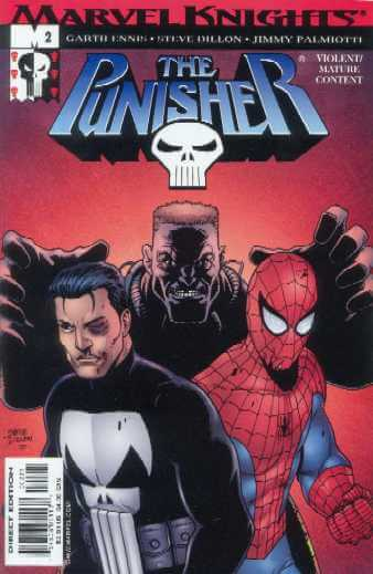 The Punisher Vol 5 #2 b