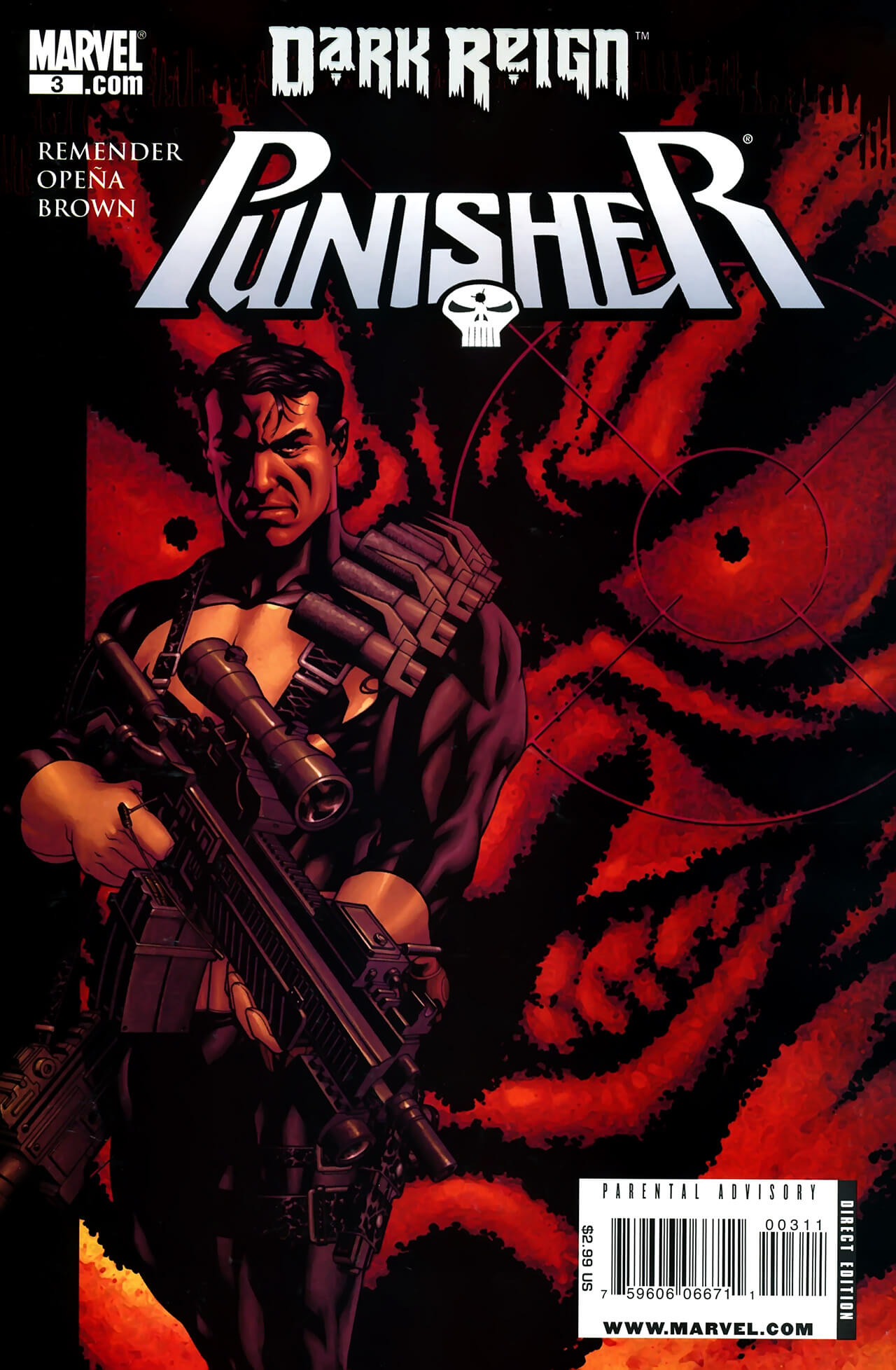 The Punisher Vol 7 #3 a