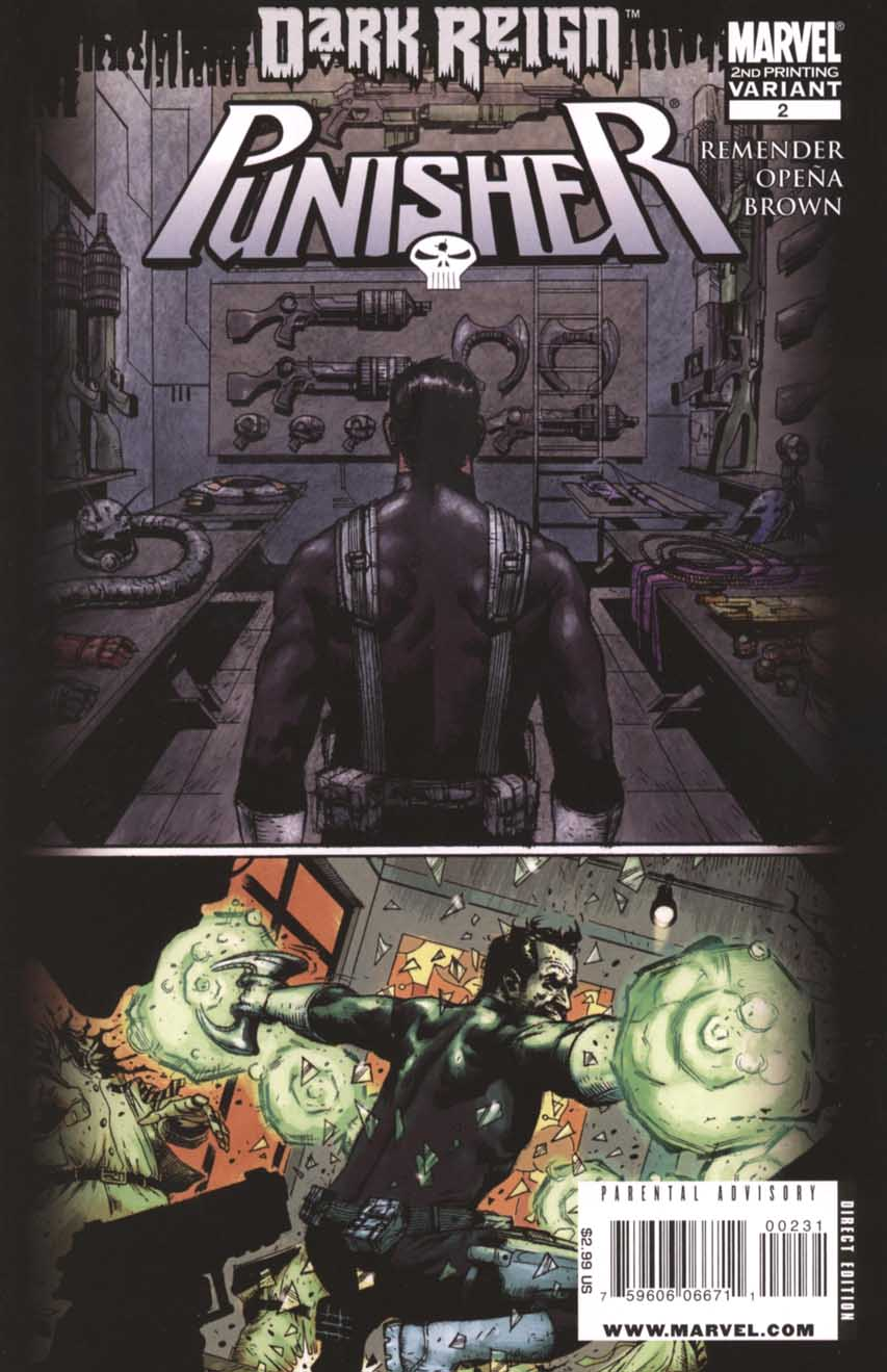 The Punisher Vol 7 #2 2nd Print