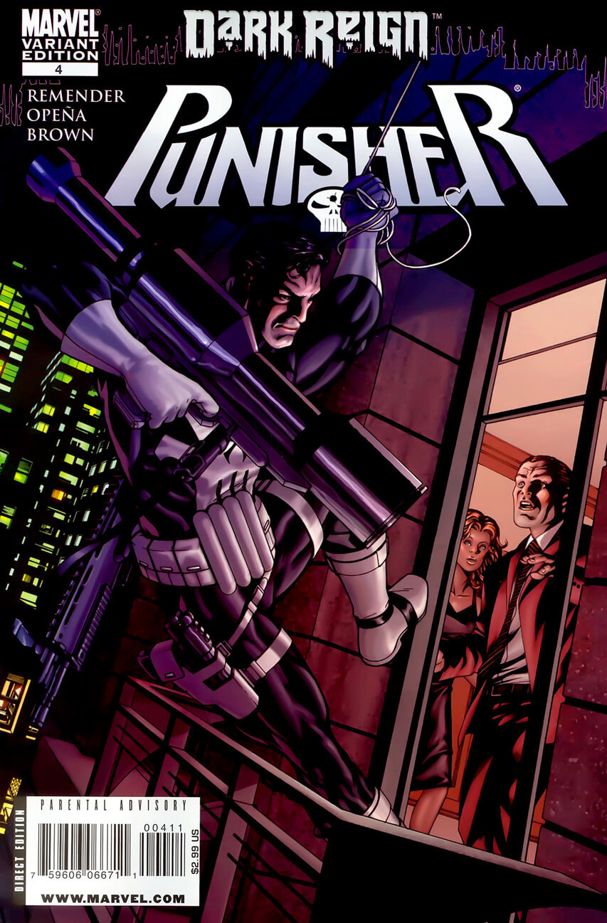 The Punisher Vol 7 #4 b