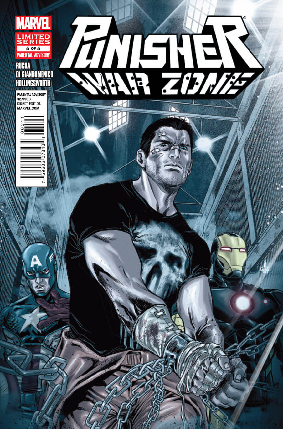 Punisher War Zone Vol 3 #5