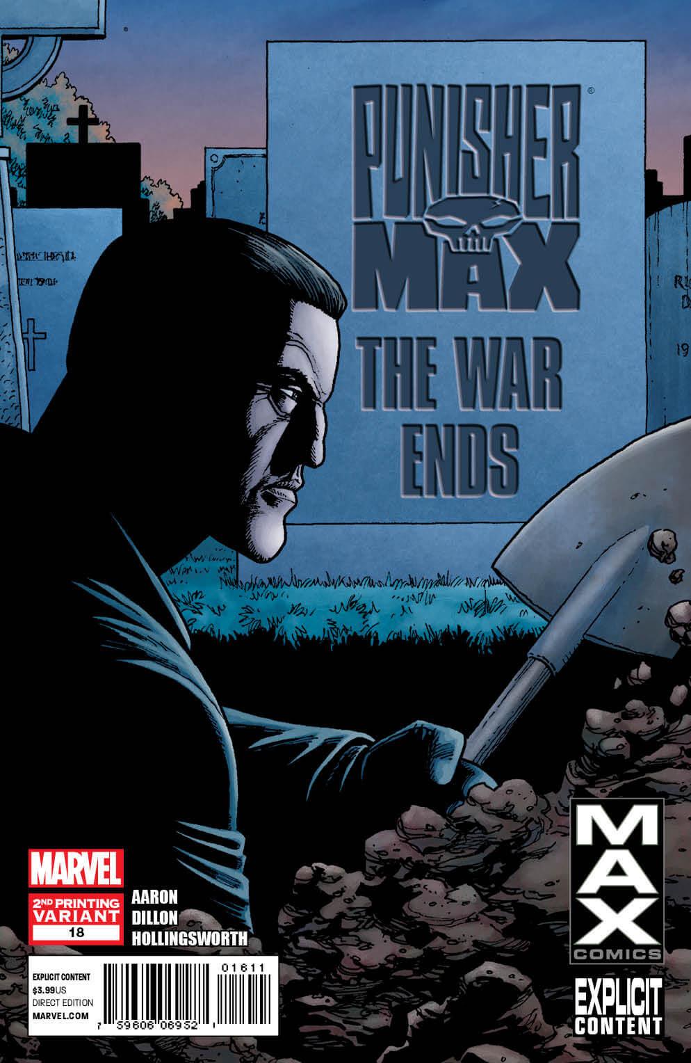 Punisher MAX #18 2nd Print